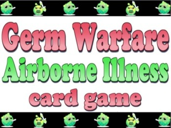Game: Airborne Illness Germ Warfare card game