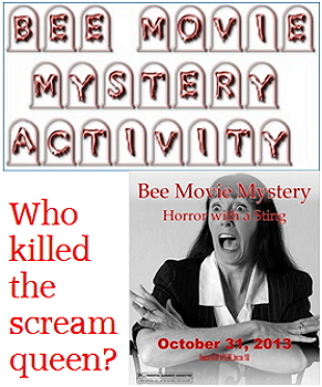 Game: Bee Movie mystery party activity