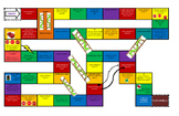 GameBoard in Spanish - Modeled after Snakes and Ladders