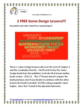 GameDesign1.1_2FreeLessons