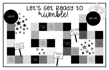 Gameboard For All Subject Areas (Math, Science, Social Studies, Language Arts)