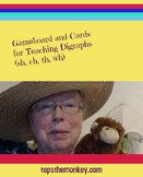 Gameboard and Cards for Teaching Digraphs (sh, ch, th, wh)