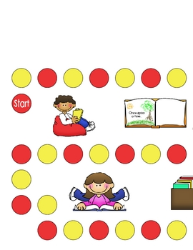 Gameboards: Back to School, Reading, Fall