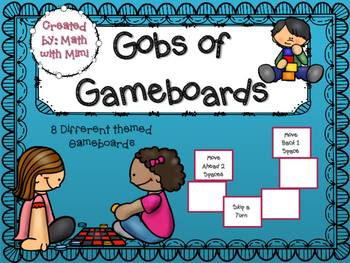 Gameboards for All Subjects and All Grades