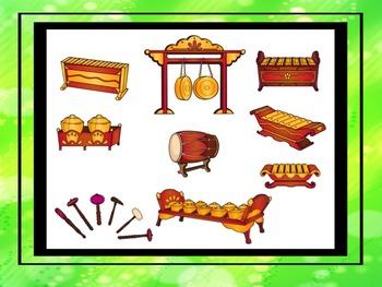 Gamelan Musical Instrument Posters