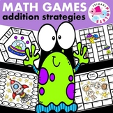 Addition Strategies Games Space Edition