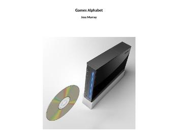Games Alphabet Book