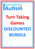 Turn Taking Games BUNDLE Autism Special Education