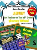 Games Bundle: Jeopardy Template, Money Wheel, Are you Smarter than a 5th Grader