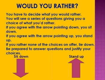 Games Bundle: Would you rather and We say, you pay.