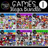 Games Clipart Mega Bundle {Creative Clips Clipart}