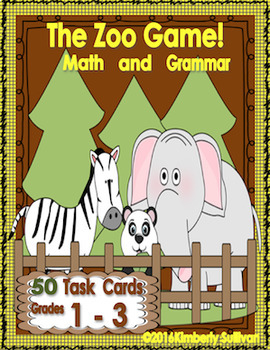 Game Activities Math and Grammar Centers
