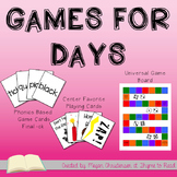 Games {FREEBIE}