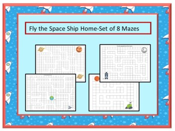Games Spaced Theme Mazes