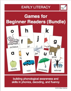 Games For Beginner Readers (Bundle)