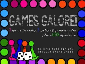 Games Galore: ELA Review Games