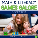 Games Galore {No Prep Math & Literacy Games for December}