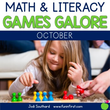 Games Galore {No Prep Math & Literacy Games for October}
