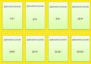 Games Galore Part Two- Addition and Subtraction