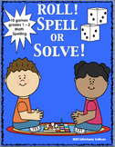 Spring Review Games Sight Words   Spelling   Math  CVC