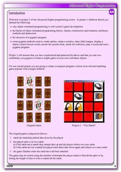 Games Programming using Pygame - Project 2 – Tile Match