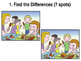 Games/Puzzles: PowerPoint-Find the Differences & Find the