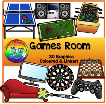 Games Room (Play Room/ Entertainment Room) (My Home Series 3)