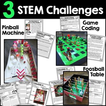 Back to School STEM Games Challenges