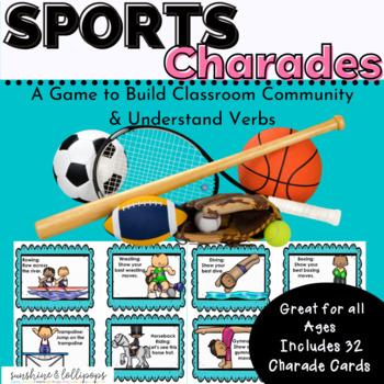 Sports Charades Brain Breaks or a Fun Game