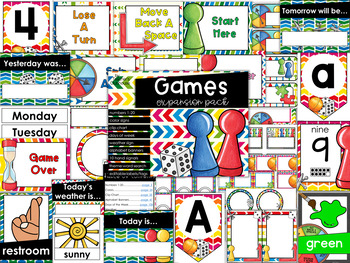 Games Theme Decor {Expansion Pack}