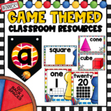 Games Theme Decor Set | with Editable Pages| Board Games