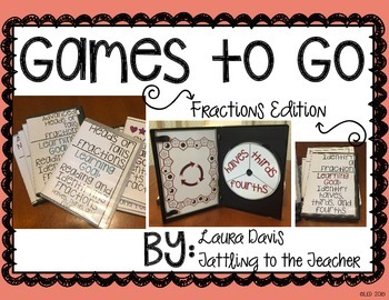 Games To Go: Fractions Edition