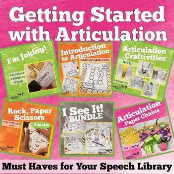Games and Activities for Articulation