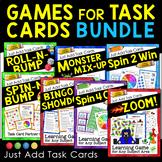 Task Card Games Bundle