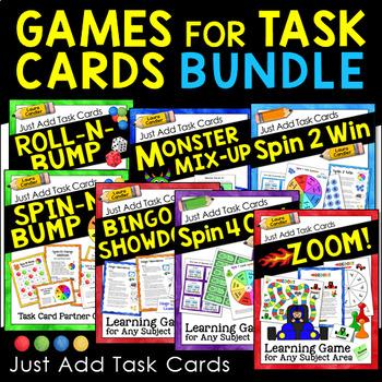 Games for Task Cards Bundle