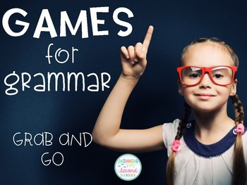 Games for Grammar - Grab and Go