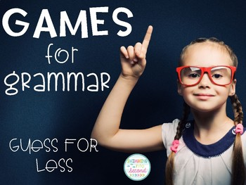 Games for Grammar - Guess For Less