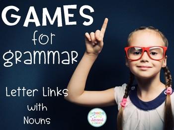 Games for Grammar - Letter Links (Nouns)
