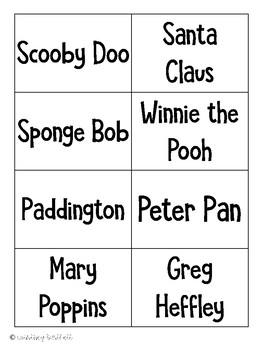 Games for Grammar - Road Trip with Proper Nouns