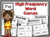 High Frequency Words ~ Games