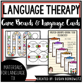 Games and More Games for Language for speech language therapy