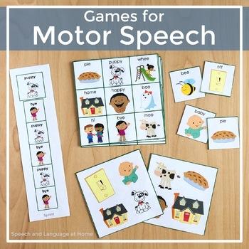 Games for Motor Speech