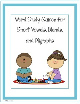 Games for Short Vowels, Blends, and Digraphs