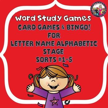 Letter Sound Identification Games! Sort 1-5