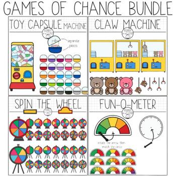 Games of Chance Clipart Bundle