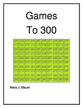 Games to 300