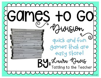 Games to Go: Division Edition