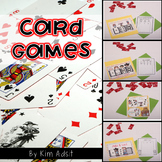 Card Games to Teach Number