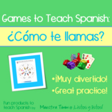 Games to Teach Spanish:  ¿Cómo te llamas?