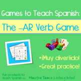 Games to Teach Spanish:  The -AR Verb Game